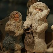 Подарки к праздникам ручной работы. Ярмарка Мастеров - ручная работа Ватная елочная игрушка. Handmade.
