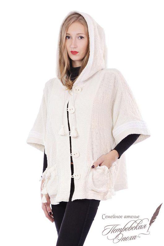 Верхняя одежда ручной работы. Ярмарка Мастеров - ручная работа. Купить Курточка из льна. Handmade. Куртка из льна, женскач куртка