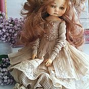 Куклы и игрушки ручной работы. Ярмарка Мастеров - ручная работа Подвижная  (будуарная)кукла. Handmade.