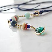 Украшения handmade. Livemaster - original item The pendant on the cord Weekend. Handmade.