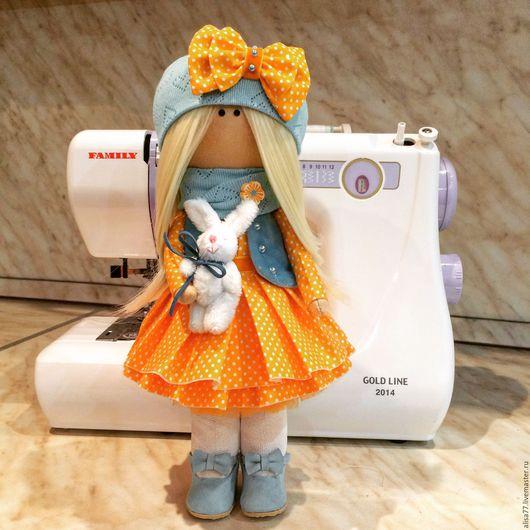 Куклы тыквоголовки ручной работы. Ярмарка Мастеров - ручная работа. Купить Интерьерная кукла. Handmade. Кукла ручной работы
