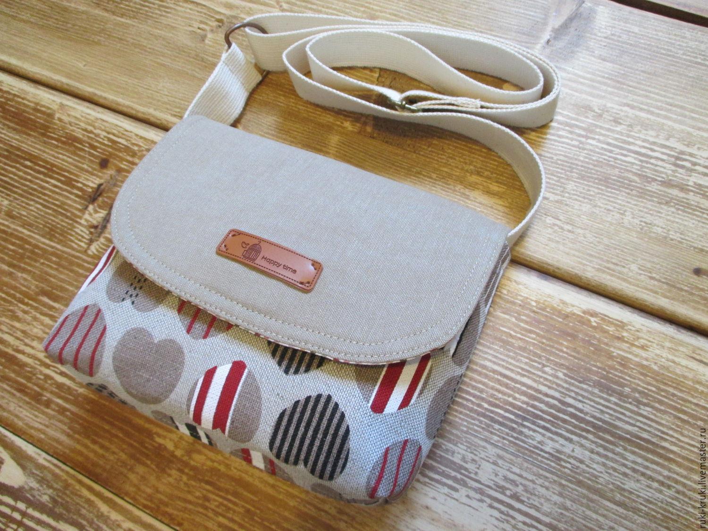 Маленькая сумка через плечо своими руками с выкройками