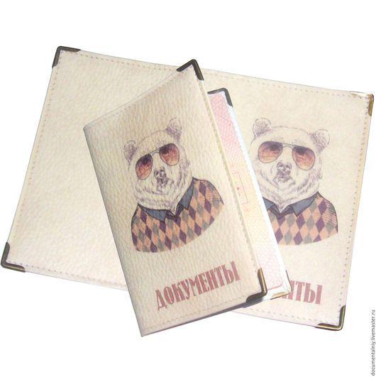 """Обложки ручной работы. Ярмарка Мастеров - ручная работа. Купить Обложка на паспорт, обложка для документов """"Dress code"""". Handmade."""