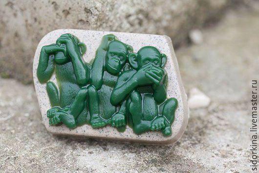 Мыло ручной работы. Ярмарка Мастеров - ручная работа. Купить Мыло ручной работы. Год обезьяны. Handmade.