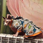 """Одежда для питомцев ручной работы. Ярмарка Мастеров - ручная работа Одежда для кошек """"Драконы"""". Handmade."""
