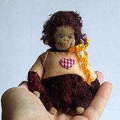 Куклы и игрушки ручной работы. Ярмарка Мастеров - ручная работа крохотулечка)). Handmade.