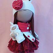 Куклы и игрушки ручной работы. Ярмарка Мастеров - ручная работа Интерьерная текстильная кукла большеножка Зая. Handmade.