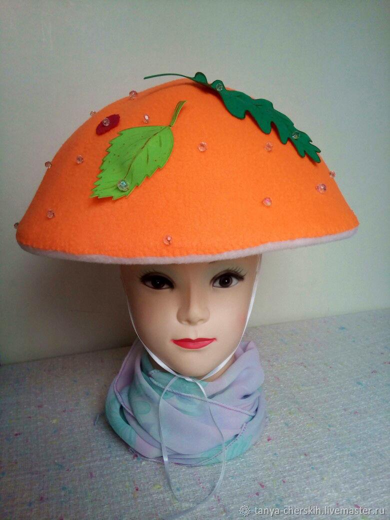 Как сделать грибную шляпу фото 128