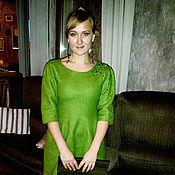 """Одежда ручной работы. Ярмарка Мастеров - ручная работа Валяное платье """"Арбат"""". Handmade."""