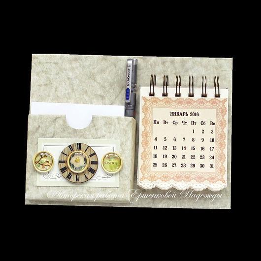 Магниты ручной работы. Ярмарка Мастеров - ручная работа. Купить Магнит органайзер-календарь на холодильник. Handmade. Магнит, холодильник