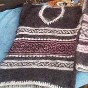 Одежда ручной работы. Ярмарка Мастеров - ручная работа жилетка Зимнее тепло. Handmade.