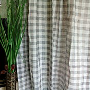 Для дома и интерьера handmade. Livemaster - original item linen curtains