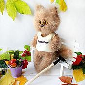 Куклы и игрушки handmade. Livemaster - original item Cat knitted