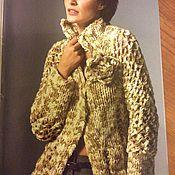 Одежда ручной работы. Ярмарка Мастеров - ручная работа Жакет ручной вязки. Handmade.