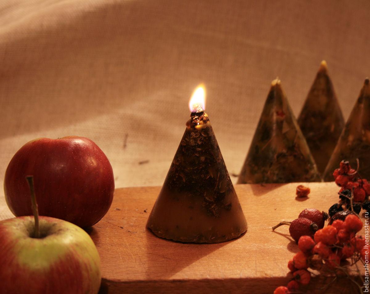 Ворожейная свеча 'женская безмятежность', Ритуальная свеча, Воронеж,  Фото №1