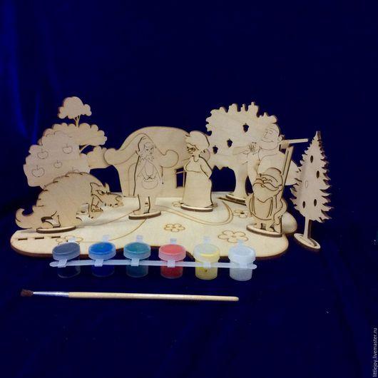 Сказочные персонажи ручной работы. Ярмарка Мастеров - ручная работа. Купить В гостях у сказки. 5 видов. Набор для творчества. Handmade.