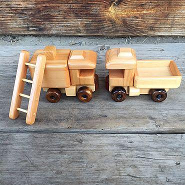 Куклы и игрушки ручной работы. Ярмарка Мастеров - ручная работа Набор мини техники №4 деревянный. Handmade.