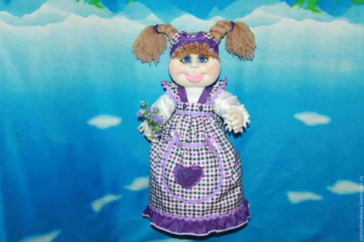 Кухня ручной работы. Ярмарка Мастеров - ручная работа. Купить Кукла-теплушка,на чайничек!                     Скульптурный текстиль.. Handmade. Кукла интерьерная