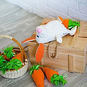 """Куклы и игрушки ручной работы. Ярмарка Мастеров - ручная работа Зай """"Рыжик"""". Handmade."""
