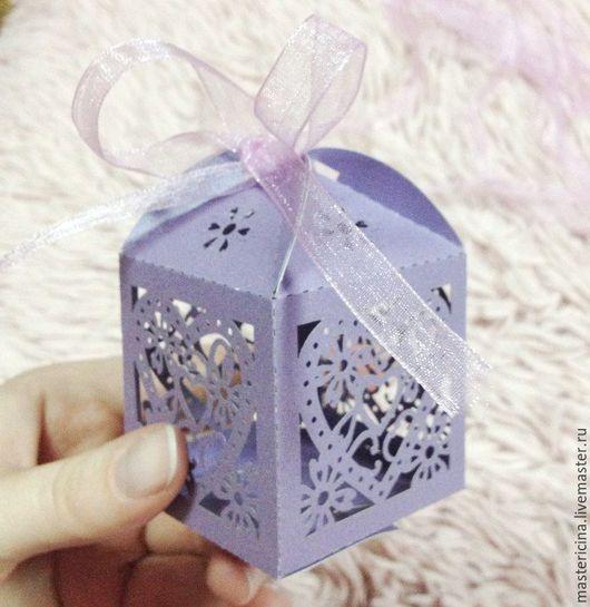 Упаковка ручной работы. Ярмарка Мастеров - ручная работа. Купить Бонбоньерки свадебные Коробочки для упаковки на свадьбу. Handmade. Коробочка, коробки
