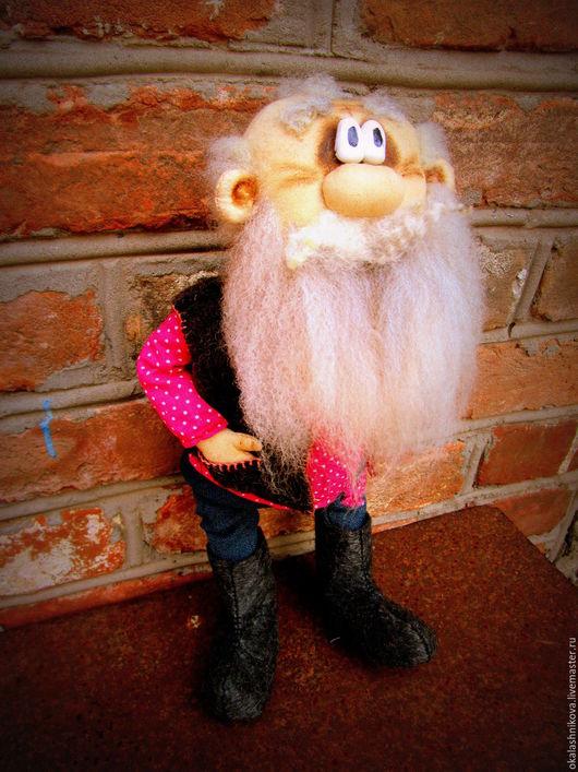 Сказочные персонажи ручной работы. Ярмарка Мастеров - ручная работа. Купить Дед Мазай. Handmade. Комбинированный, дедушка, авторская кукла