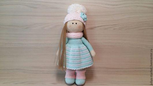 Куклы Тильды ручной работы. Ярмарка Мастеров - ручная работа. Купить Куколка Лия. Handmade. Куколка ручной работы, мятный