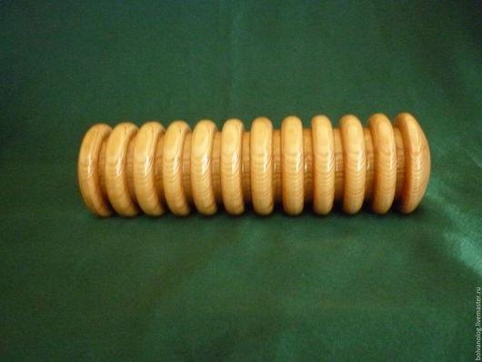 Валяние ручной работы. Ярмарка Мастеров - ручная работа. Купить Раскатка для валяния 26 см.. Handmade. Рыжий, шерсть, бук