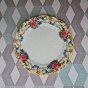 Винтаж handmade. Livemaster - original item Plate Aynsley England 1931. Handmade.