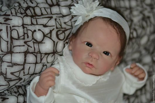 Куклы-младенцы и reborn ручной работы. Ярмарка Мастеров - ручная работа. Купить Кукла реборн Хлоя. Handmade. Розовый, холлофайбер