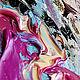 """Картины цветов ручной работы. """"Кружевной Танец"""" - картина с цветами маслом. ЯРКИЕ КАРТИНЫ Наталии Ширяевой. Ярмарка Мастеров. Белый"""