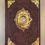 Сувениры и подарки handmade. Livemaster - original item The world of art (leather gift book). Handmade.
