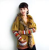 Одежда ручной работы. Ярмарка Мастеров - ручная работа Жакет в русском стиле. Handmade.