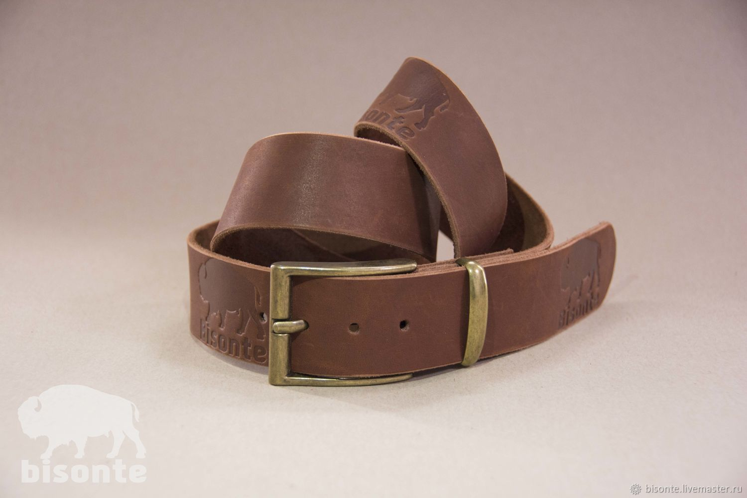 Belts handmade. Livemaster - handmade. Buy A leather belt.Leather, natural, accessories, strap, thread, men's