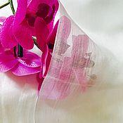 Материалы для творчества ручной работы. Ярмарка Мастеров - ручная работа Шёлк Газ 90см. Handmade.