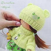 Куклы и игрушки ручной работы. Ярмарка Мастеров - ручная работа малышка Фисташечка. Handmade.