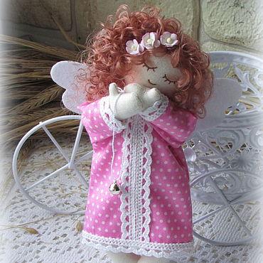 Куклы и игрушки ручной работы. Ярмарка Мастеров - ручная работа Ангелочек текстильный Сонюшка - 2. Handmade.