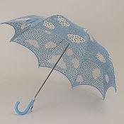 Аксессуары handmade. Livemaster - original item Umbrella Light clouds!. Handmade.