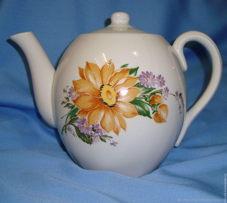 Large teapot 80s, Vintage kitchen utensils, Istra,  Фото №1