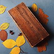 Винтаж handmade. Livemaster - original item Box, antique, Russian style. Handmade.