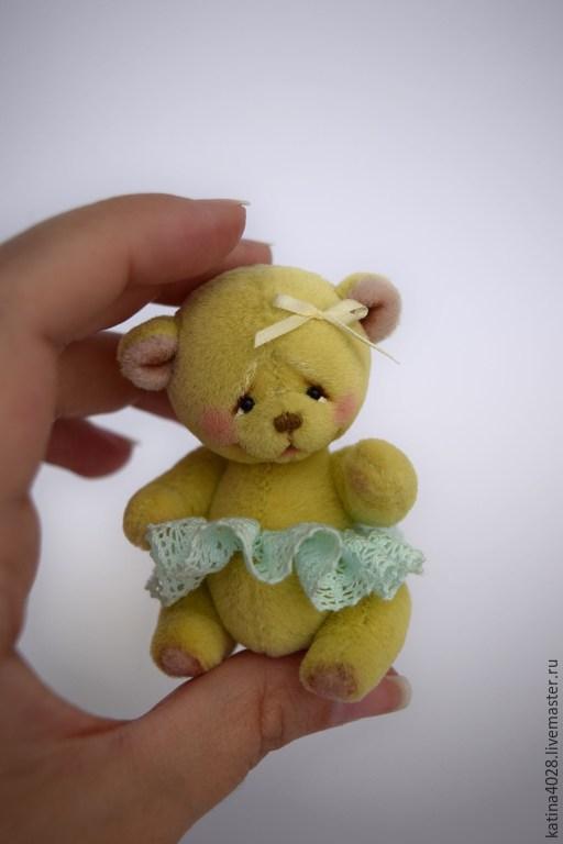 Мишки Тедди ручной работы. Ярмарка Мастеров - ручная работа. Купить Лимоночка. Handmade. Лимонный, мишка ручной работы, масло