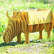 Для дома и интерьера ручной работы. Ярмарка Мастеров - ручная работа мангал Носорог. Handmade.
