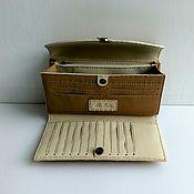 Сумки и аксессуары handmade. Livemaster - original item W146 Wallet-leather purse.Manual work. Alia Svalia.. Handmade.