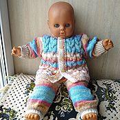 Работы для детей, handmade. Livemaster - original item Knitted suit:blouse pants. Handmade.