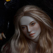 Куклы и игрушки handmade. Livemaster - original item Copy of Copy of Vivien. Handmade.