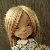 Куклы и игрушки ручной работы. Ярмарка Мастеров - ручная работа Текстильная авторская кукла Адель. Handmade.