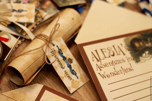 Свадебные открытки ручной работы. Ярмарка Мастеров - ручная работа. Купить Открытка, пригласительные. Handmade. Тёмно-синий, мальчишник, растения