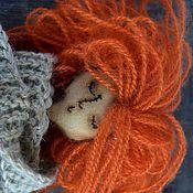 Куклы и игрушки ручной работы. Ярмарка Мастеров - ручная работа Сонная Сонька. Рыжая. Чердачная кукла.. Handmade.
