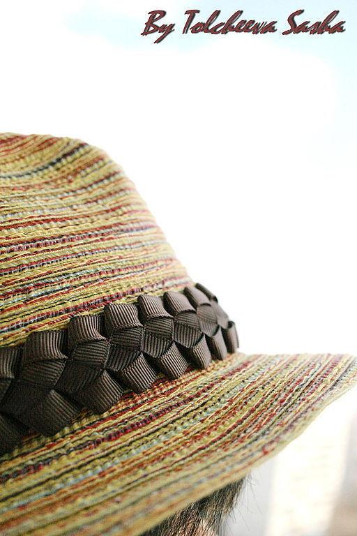 Шляпы ручной работы. Ярмарка Мастеров - ручная работа. Купить Оранжевое лето. Шляпа .. Handmade. Шляпа, прикольная шляпа