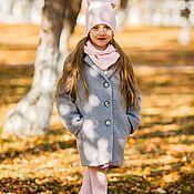 Работы для детей, ручной работы. Ярмарка Мастеров - ручная работа Пальто детское Кокон. Handmade.