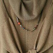 Одежда ручной работы. Ярмарка Мастеров - ручная работа Платье - туника кашемир на шелке. Handmade.